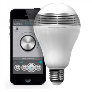 MiPow Playbulb smart LED bulb with Bluetooth support