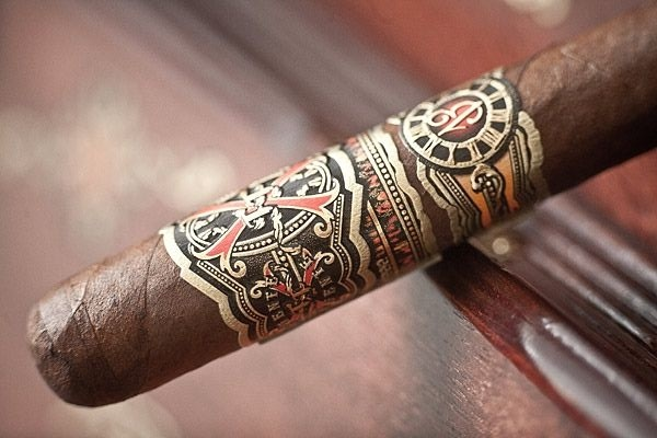 Arturo Fuente Cigar on wood