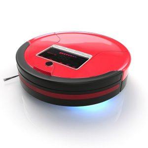 BobSweep PetHair Robot Vacuum Rouge